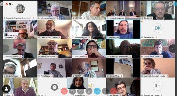 La FEDUN presentó en la reunión paritaria su propuesta sobre trabajo docente virtual