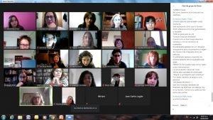 Segunda reunión para planificar el Seminario Anual de Discapacidad de la UBA