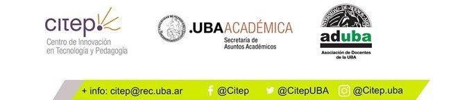 Curso ADUBA-CITEP: La enseñanza en tiempos de aislamiento social, preventivo y obligatorio