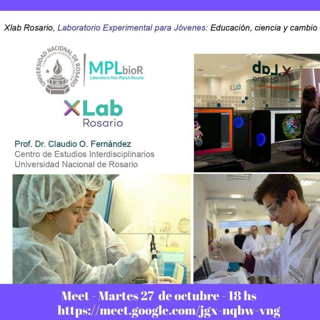 Sumate al Laboratorio Experimental para Jóvenes organizado por Xlab Rosario