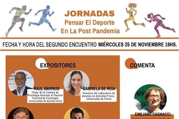 Jornadas sobre deporte en pospandemia de la Asociación de Sociólogos de la República Argentina