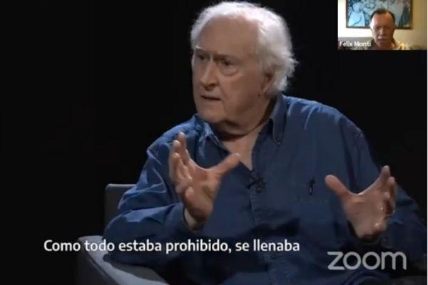 Emotivo homenaje de la comunidad universitaria a Pino Solanas