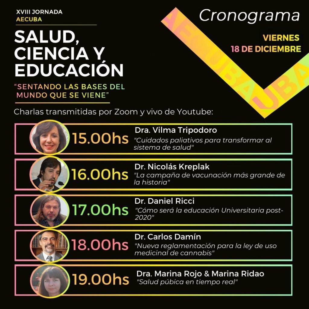 """XVIII Jornada AECUBA """"Salud, ciencia y educación"""""""
