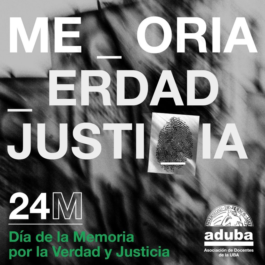 Día de la Memoria por la Verdad y Justicia